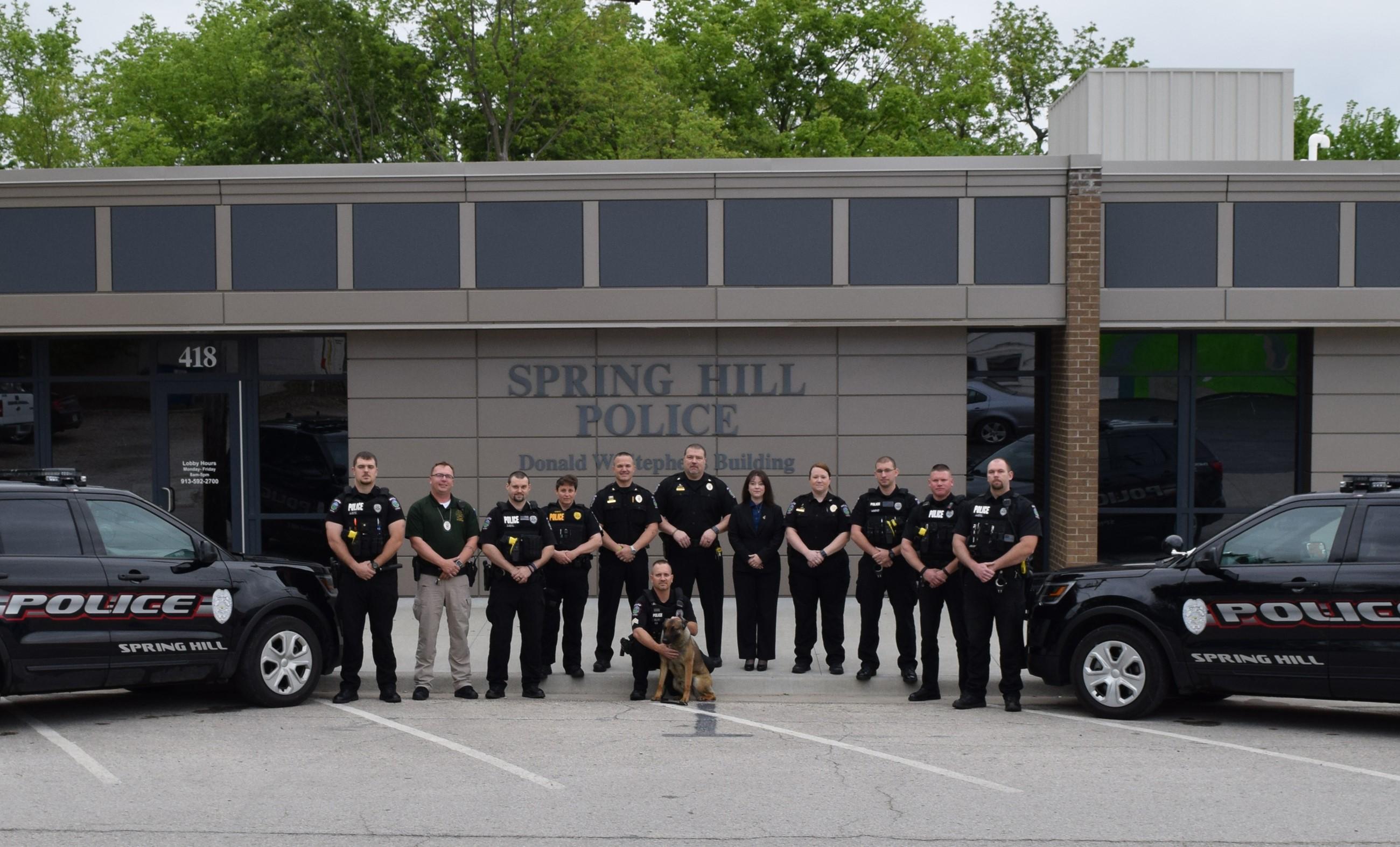 police department spring hill ks official website. Black Bedroom Furniture Sets. Home Design Ideas