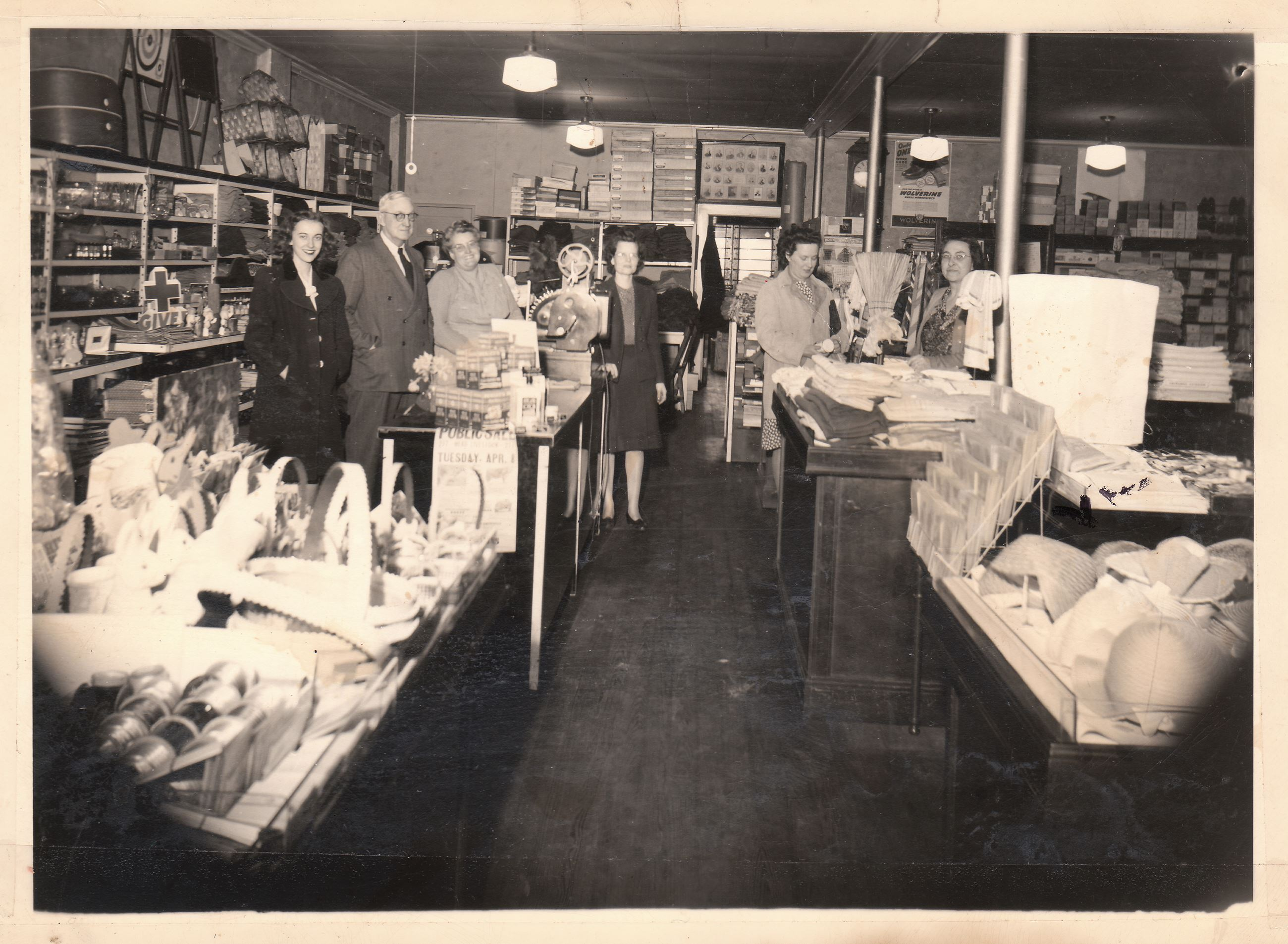 Hogues Store 1940s