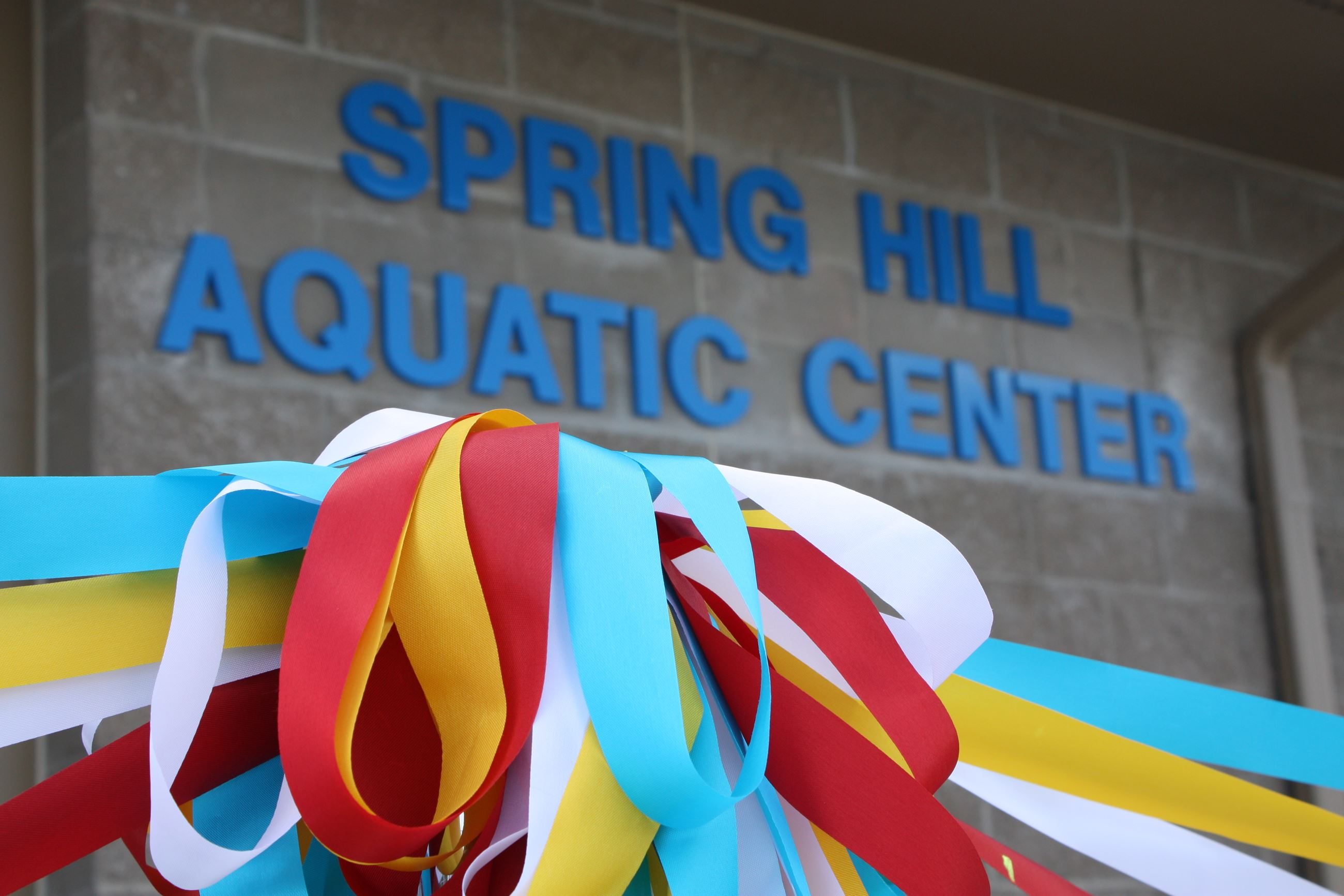 Aquatic Center Entrance